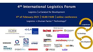 Αποτέλεσμα εικόνας για 4th International Logistic Forum